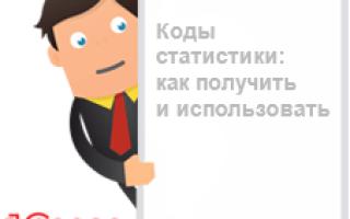 Как получить код ОКПО для ООО