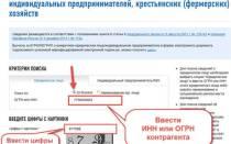 Как узнать номер телефона ИП по ИНН