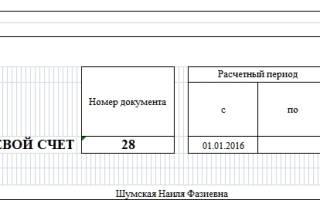 Лицевые счета работников т 54 образец заполнения