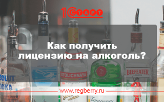 Как получить лицензию на алкоголь для ООО