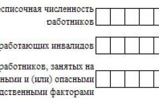 Как рассчитать среднесписочную численность для 4 ФСС