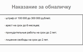 Вывод денег с ООО на физ лицо